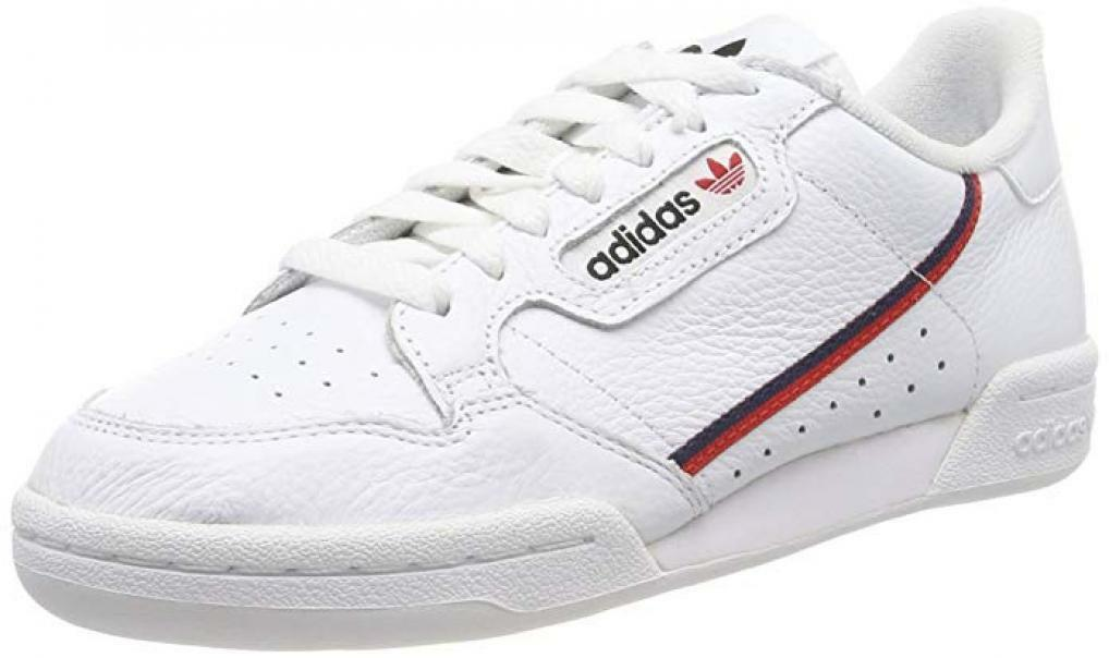 adidas adidas continental 80 scarpe sportive uomo bianche g27706