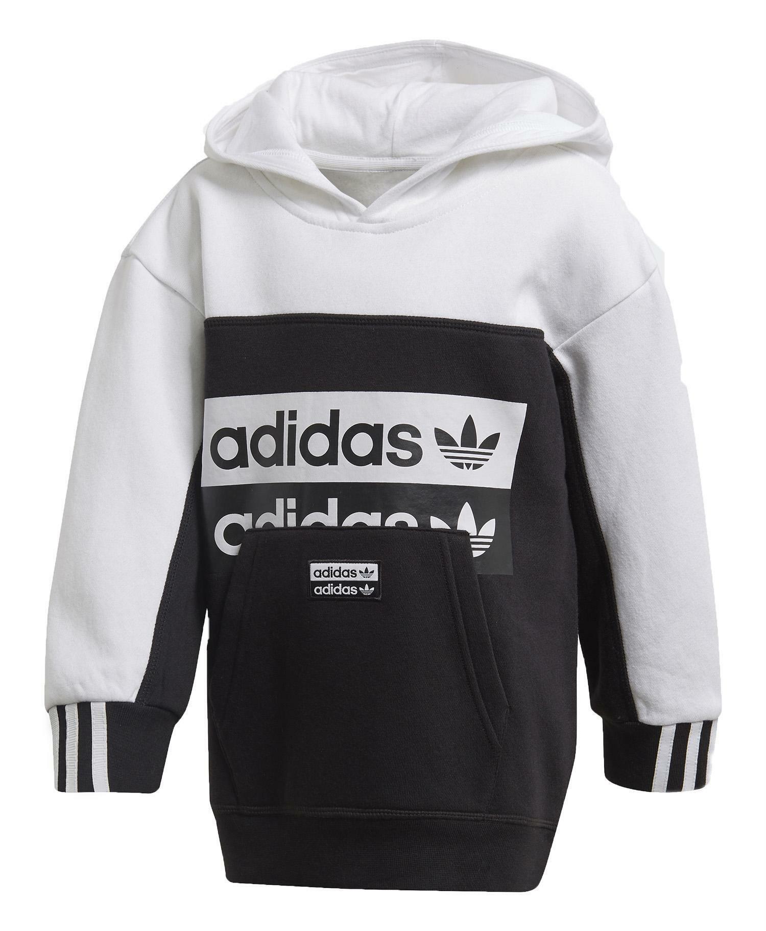 adidas adidas set tuta bambino nera fm7603