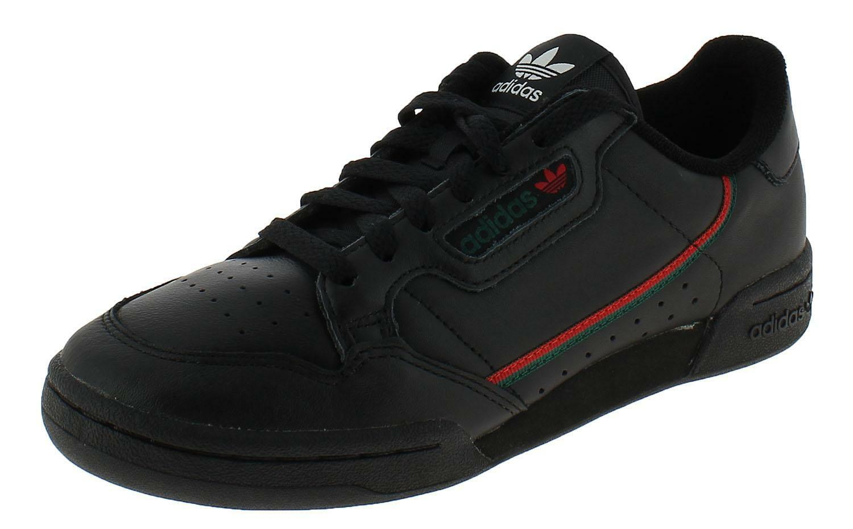 adidas adidas continental 80 scarpe sportive uomo nere ee5343