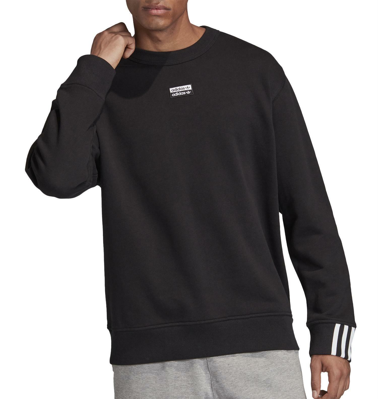 adidas adidas f a crew felpa uomo nera fm2262