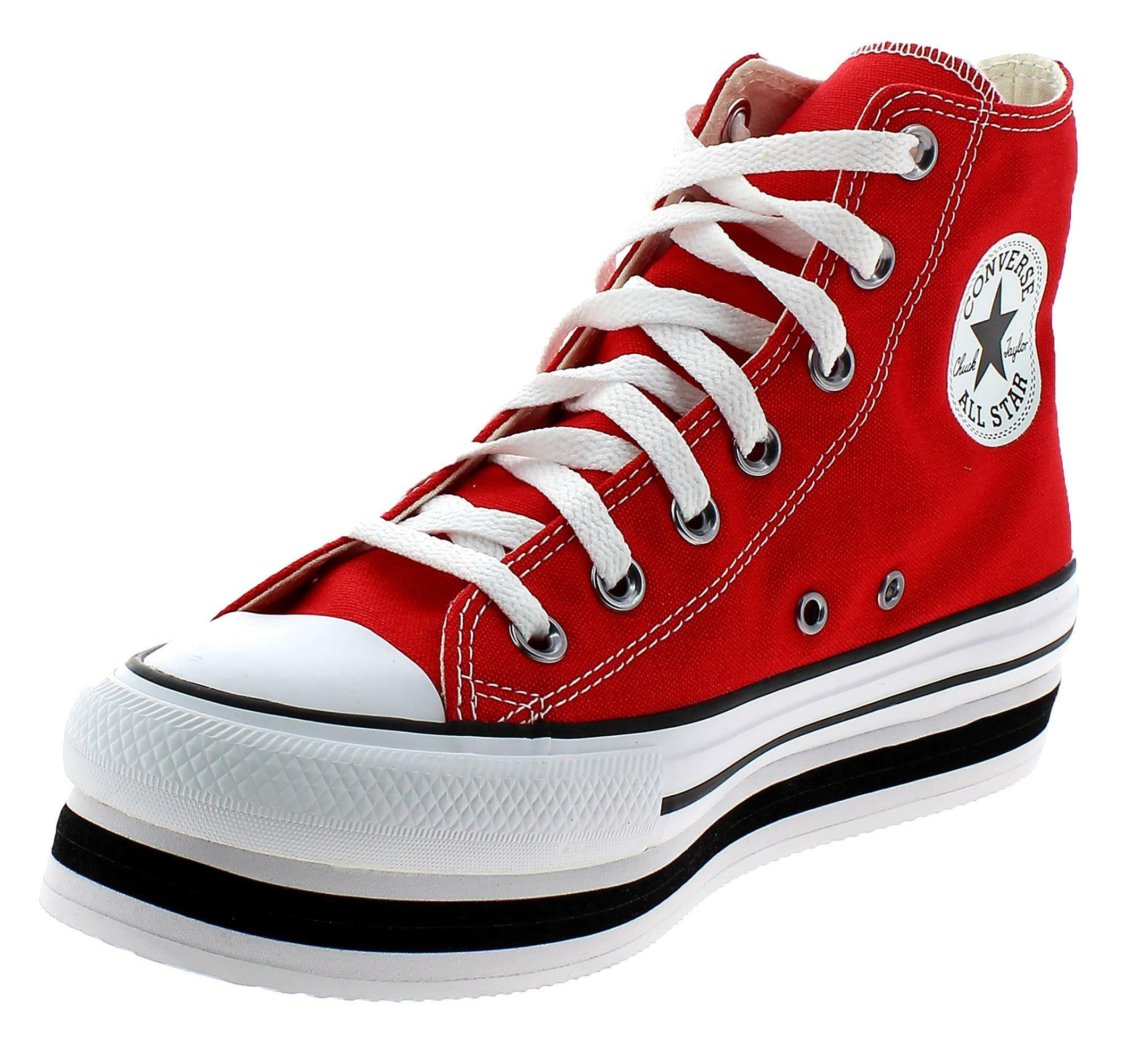 all star converse rosse donna