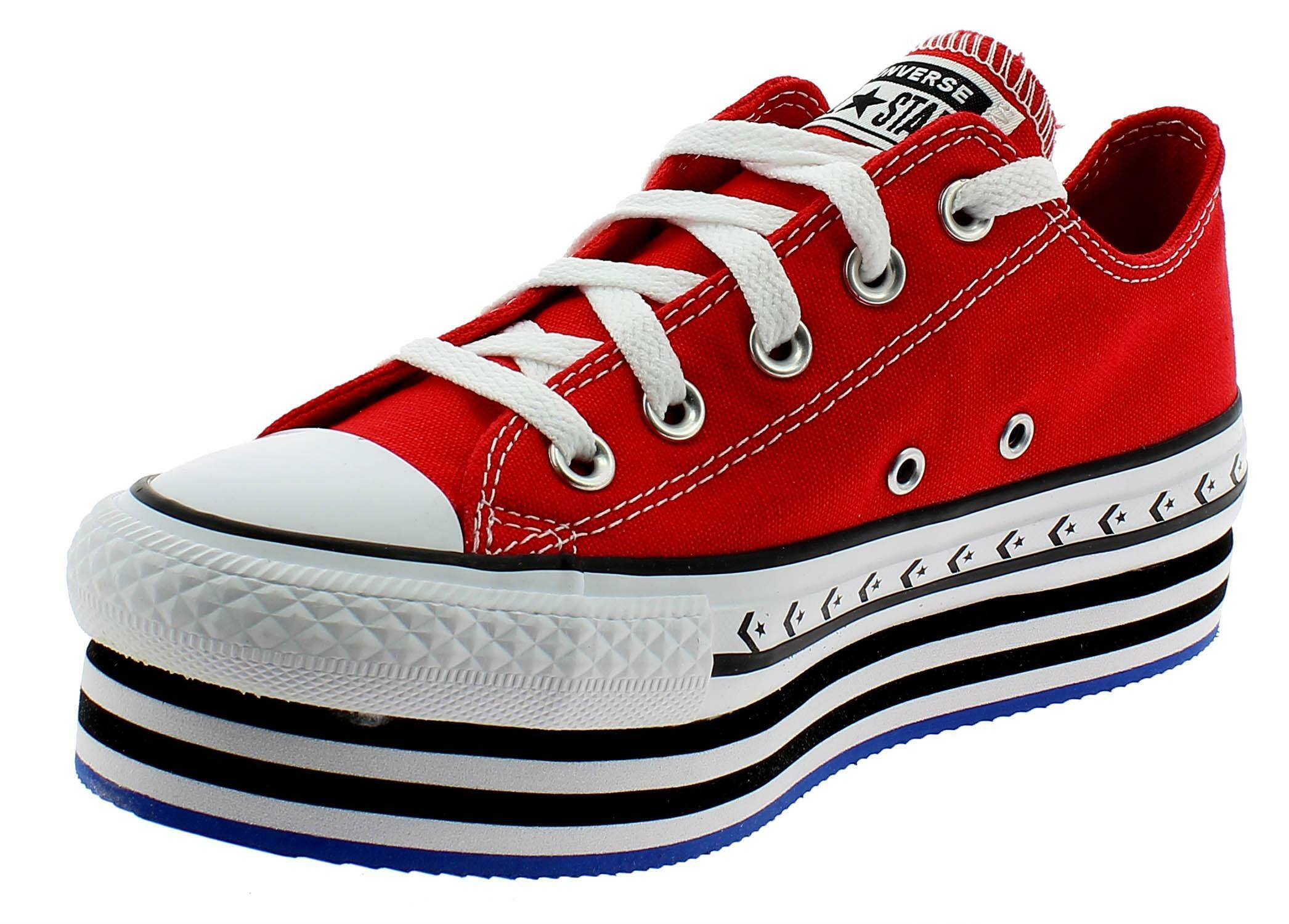 converse donna all star rosse