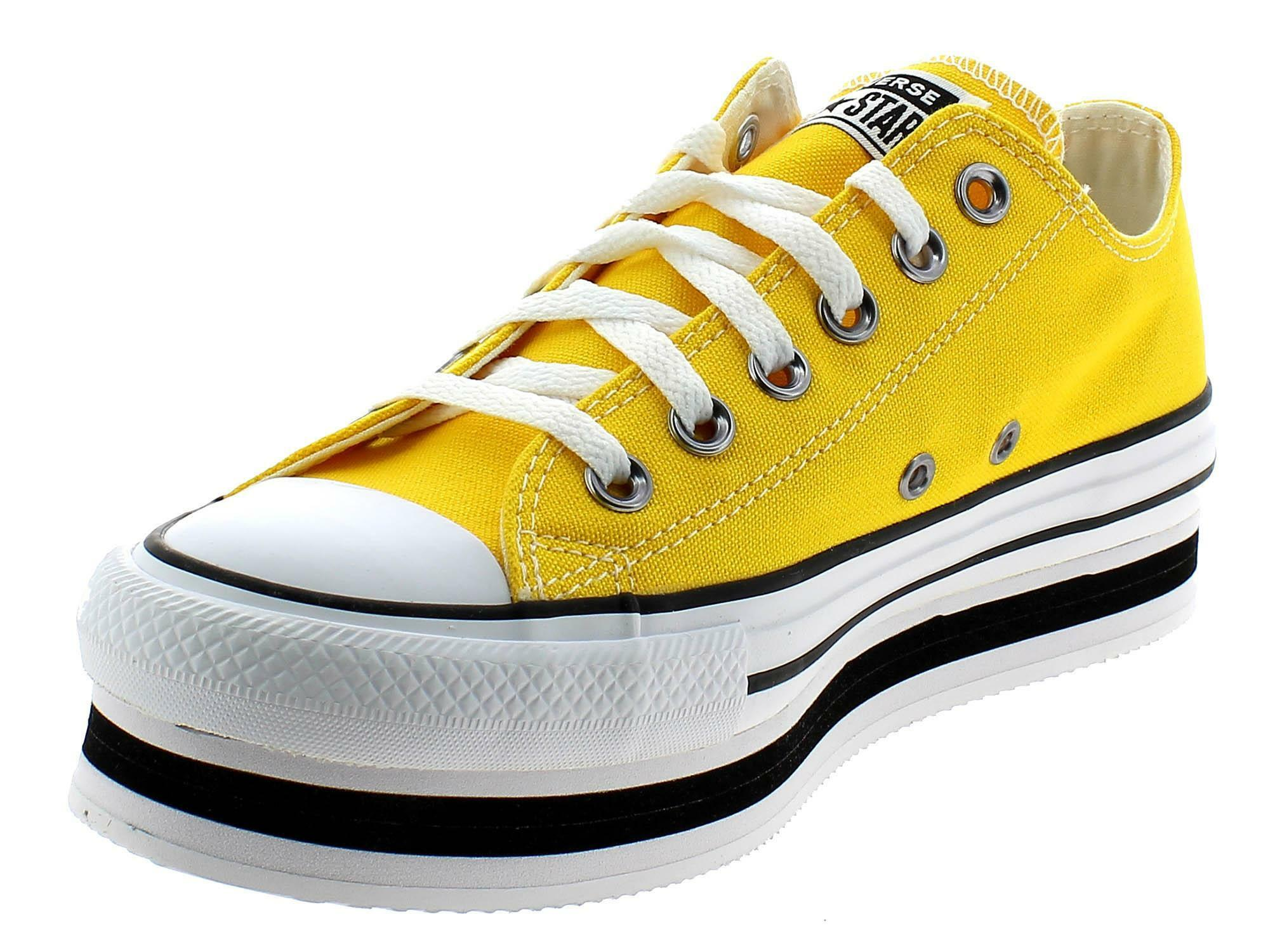 converse all star gialle donna