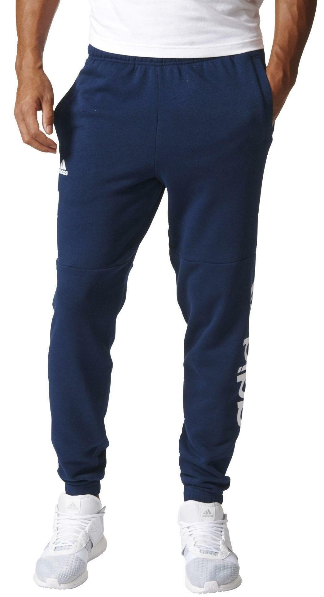 pantaloni uomo cotone adidas