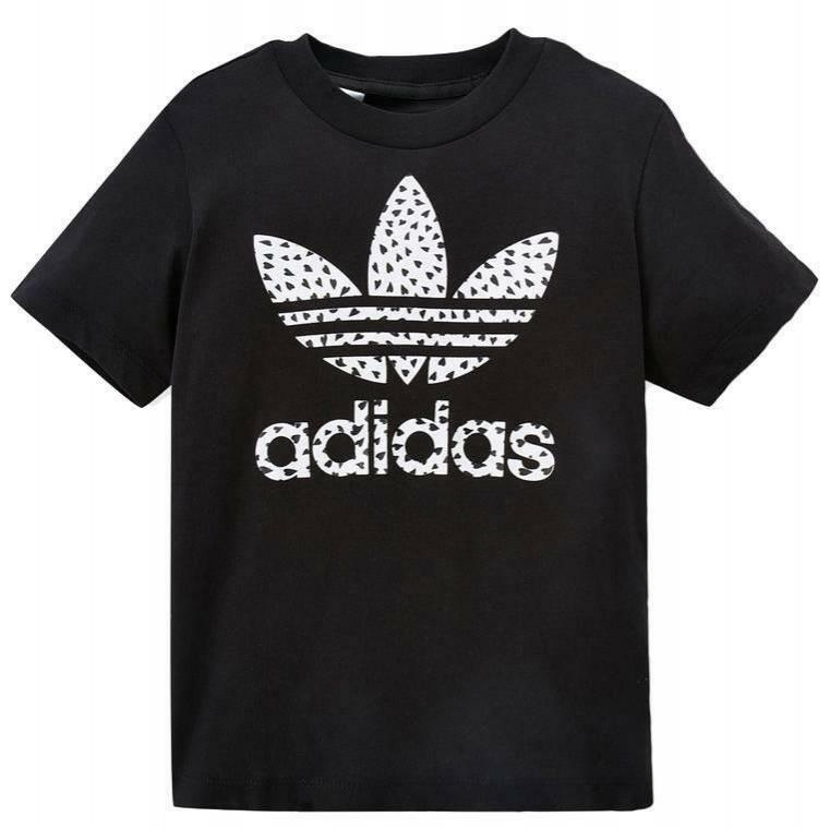 adidas adidas trffill tee g t-shirt bambina nera