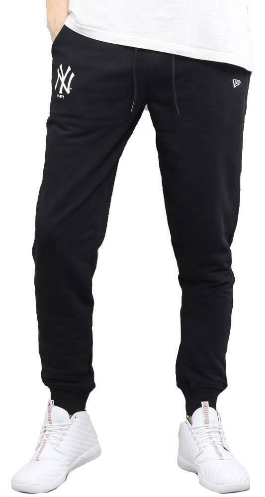 new era new era team apparel ft pantalone uomo nero