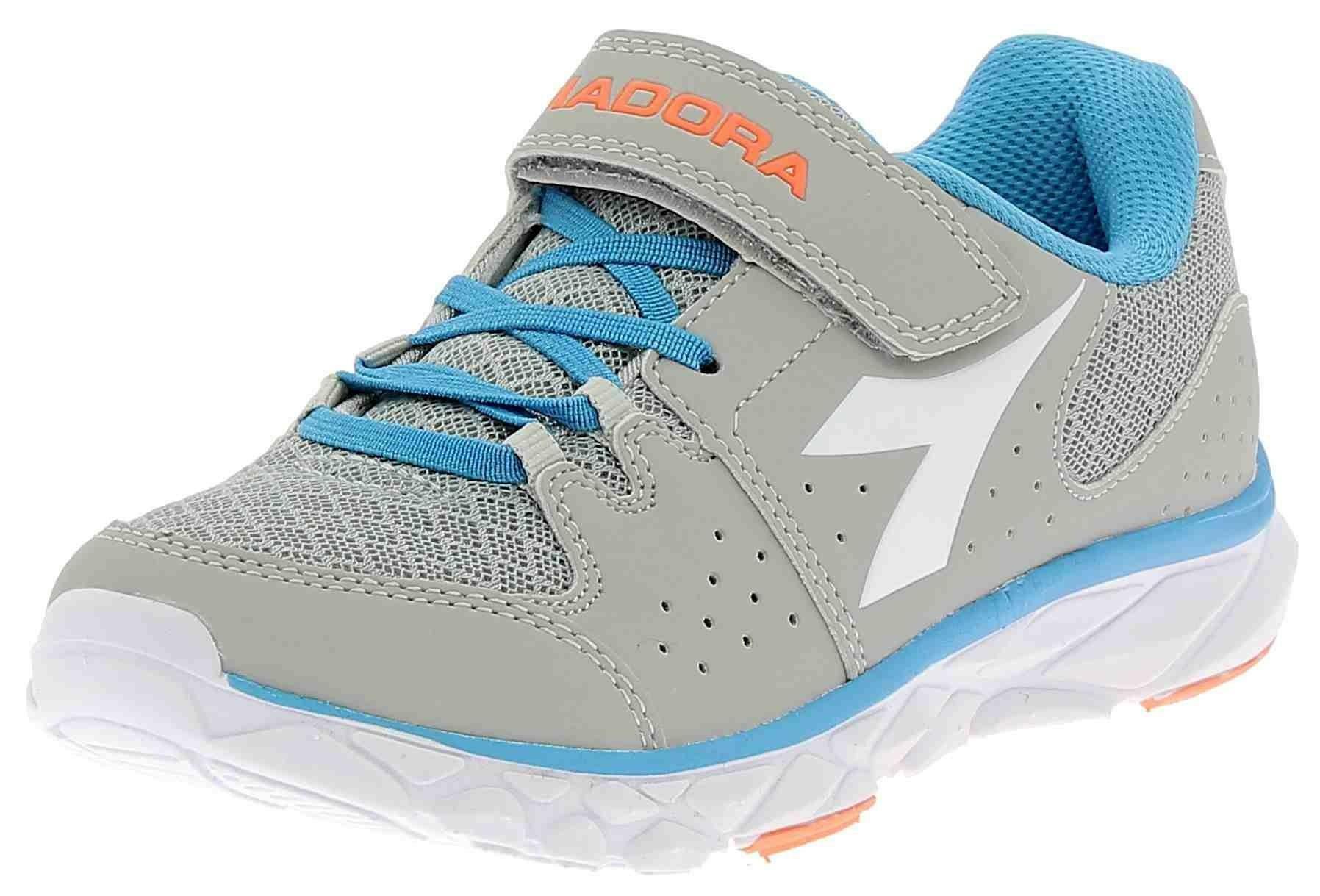 Diadora hawk 7 jr scarpe sportive bambino grigio