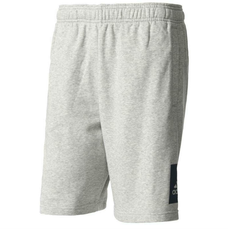 adidas adidas ess lo ft pantaloncini sportivi uomo grigi bk7465