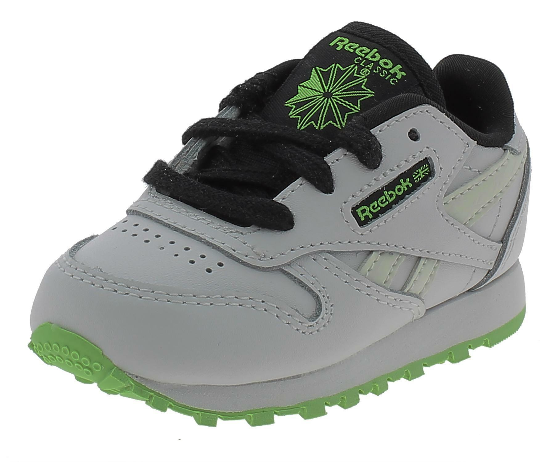 Reebok classic leather scarpe sportive bambino bianche eh3234