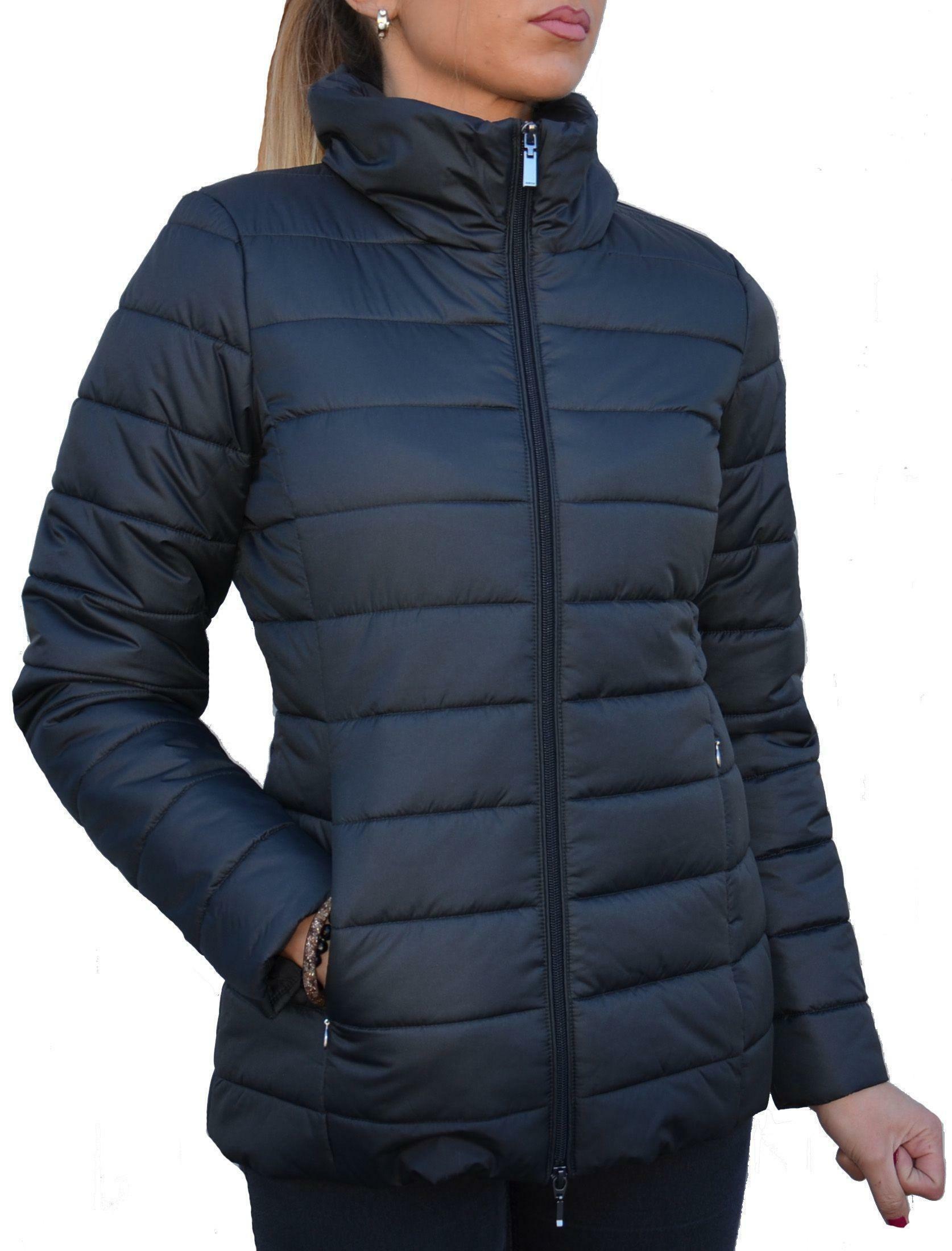 geox geox woman jacket giubbotto donna nero