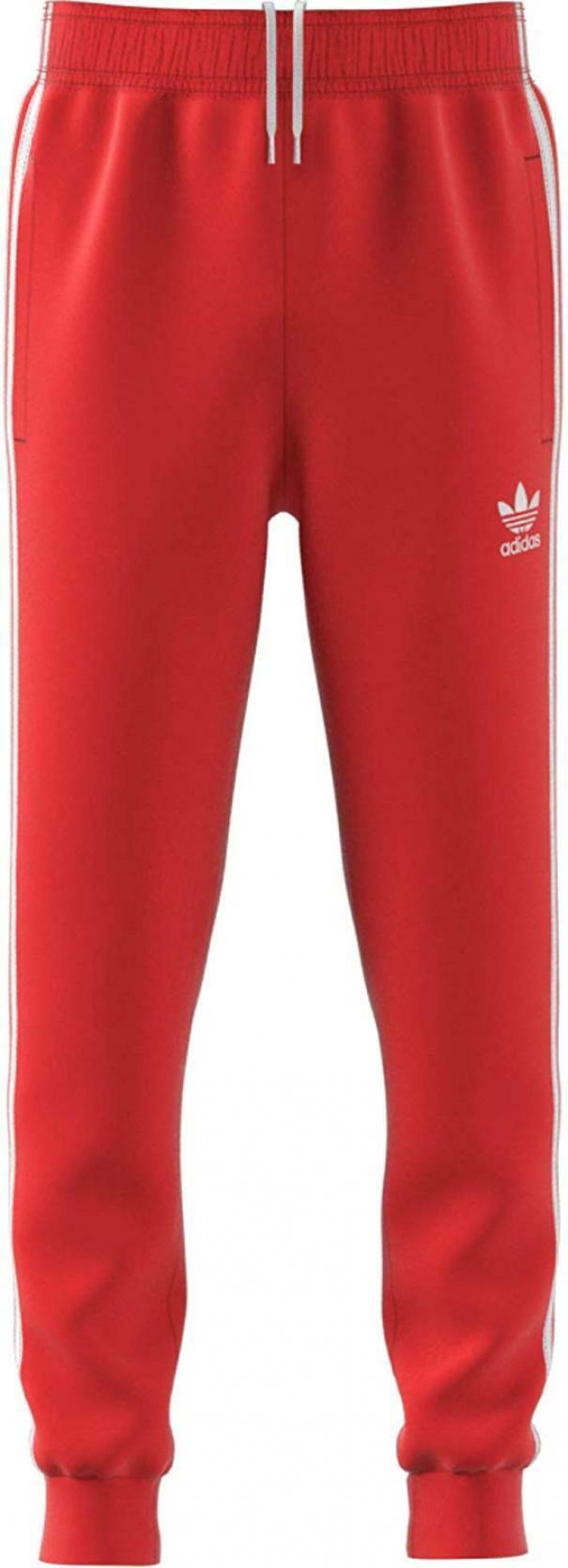 pantaloni rossi adidas bambino