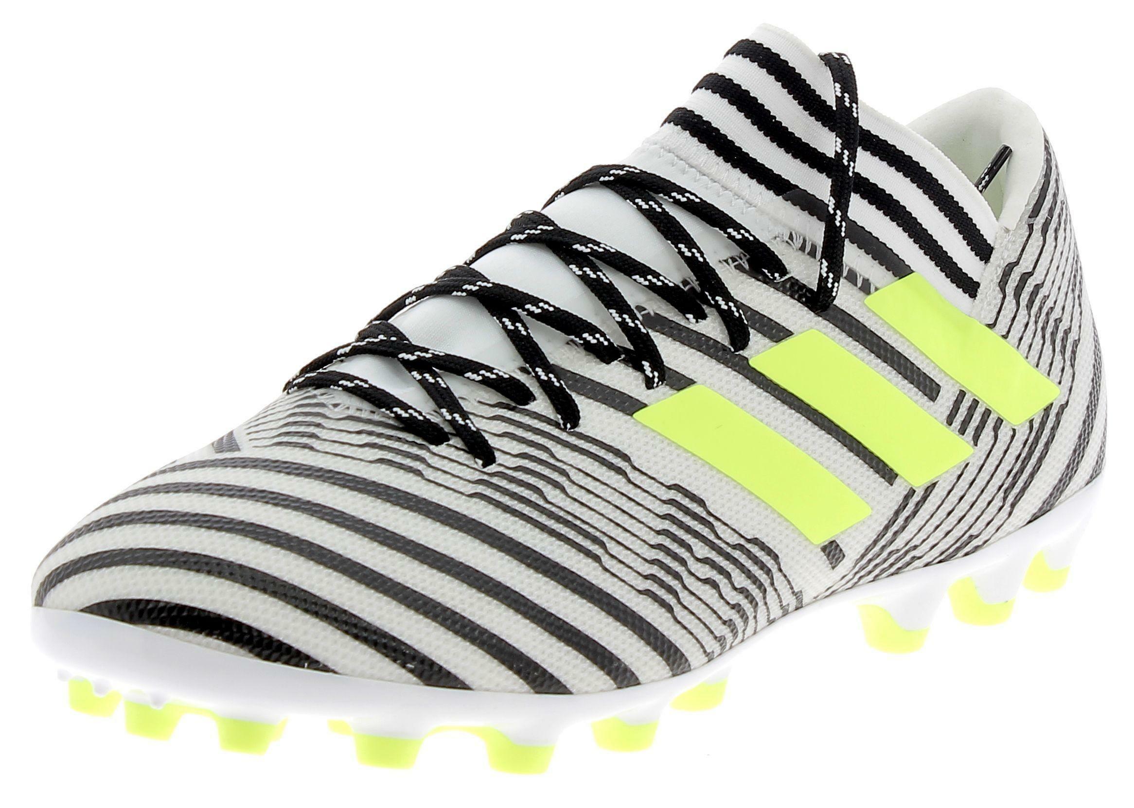 adidas adidas nemeziz 17.3 ag scarpini calcio uomo bianchi