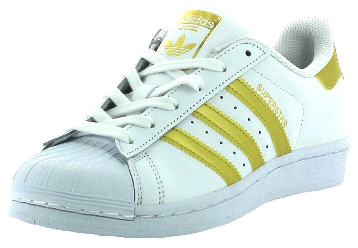 adidas bb2870 superstar scarpe sportive bianche oro