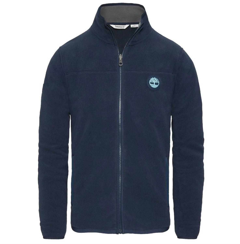 timberland timberland wht porl flc giacchetto uomo blu