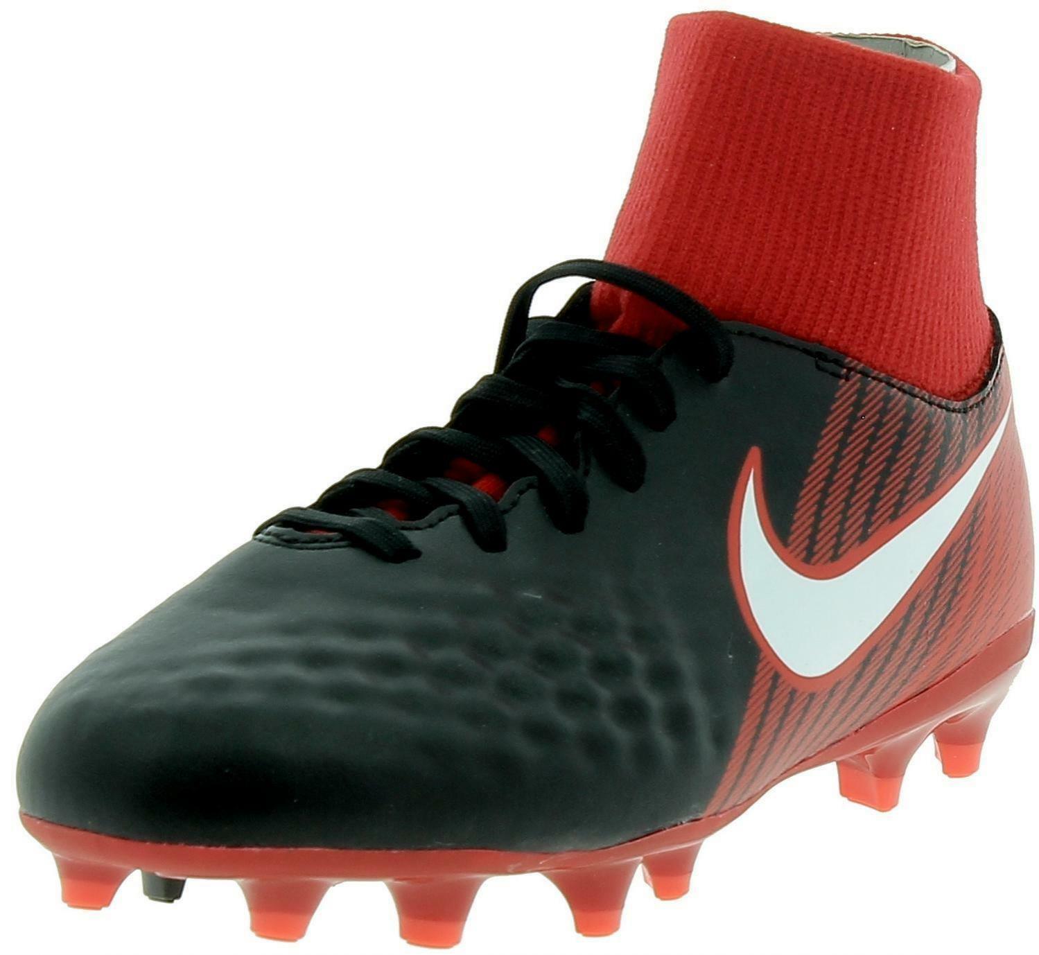 nike nike jr magista onda ii df fg scarpini calcio bambino nero rossi 917776061