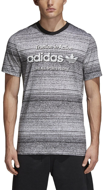 adidas adidas originals traction aop t-shirt uomo