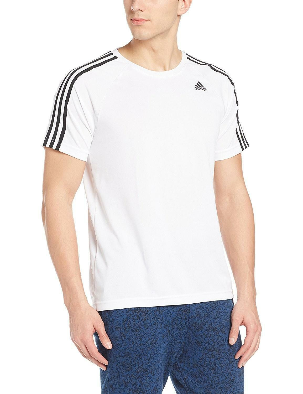 adidas adidas d2m t-shirt uomo bianca bk0971