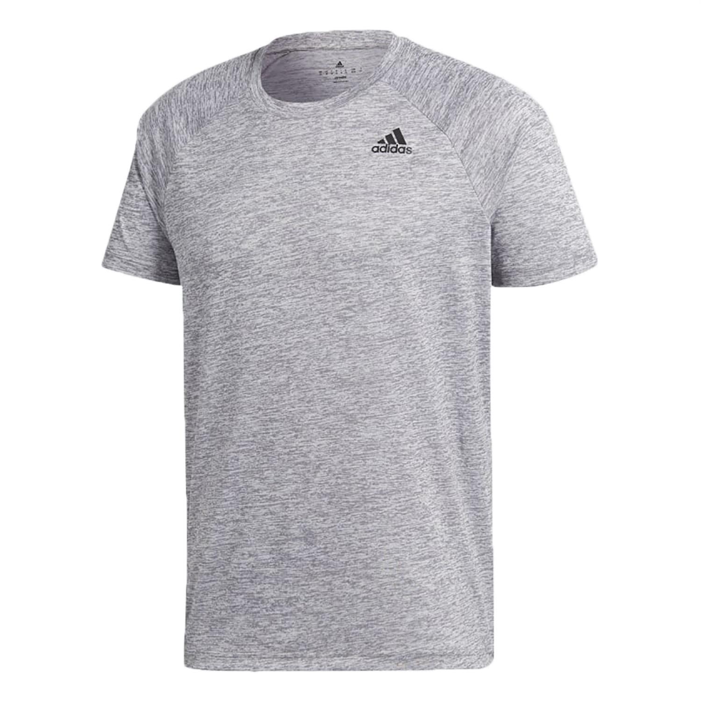 adidas adidas ht d2 m t-shirt uomo grigia