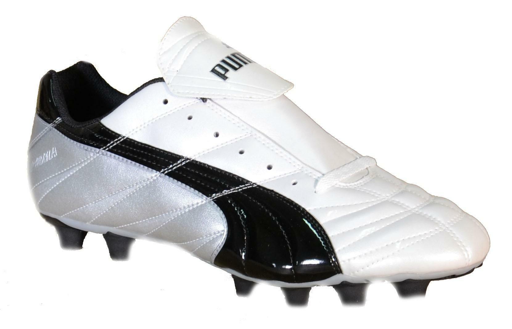 puma puma torceira i fg scarpini calcio bianchi pelle 100421