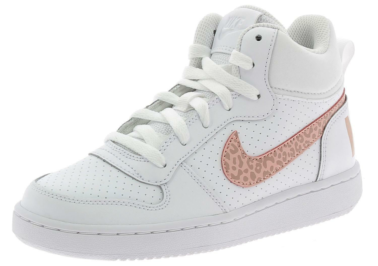 Nike court borough mid gs scarpe sportive donna 845107