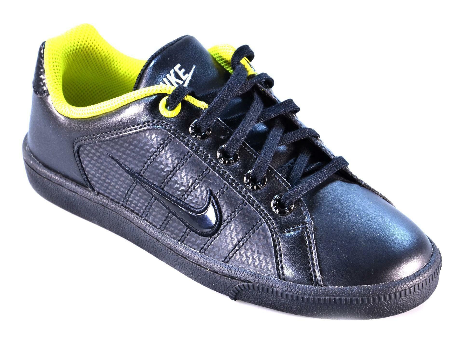 nike nike court tradition 2 plus scarpe bambino nere 407930