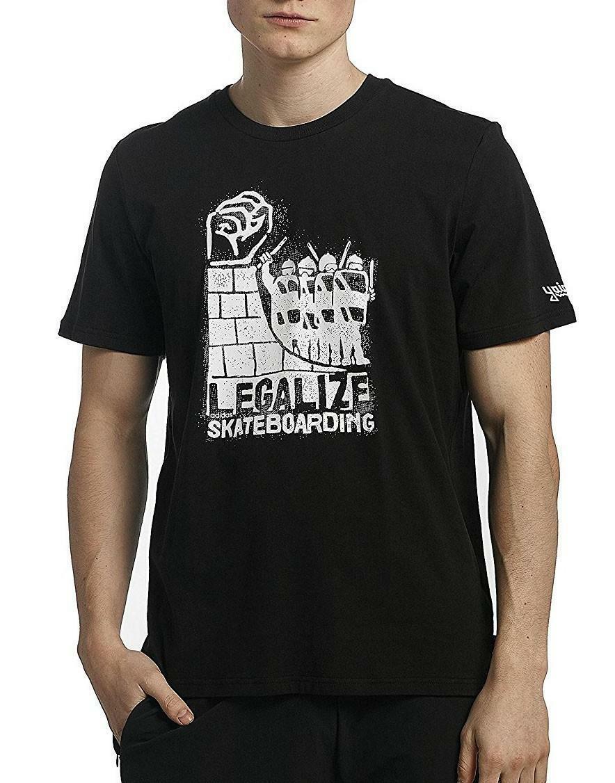 adidas adidas legalize tee t-shirt uomo nera cf3120