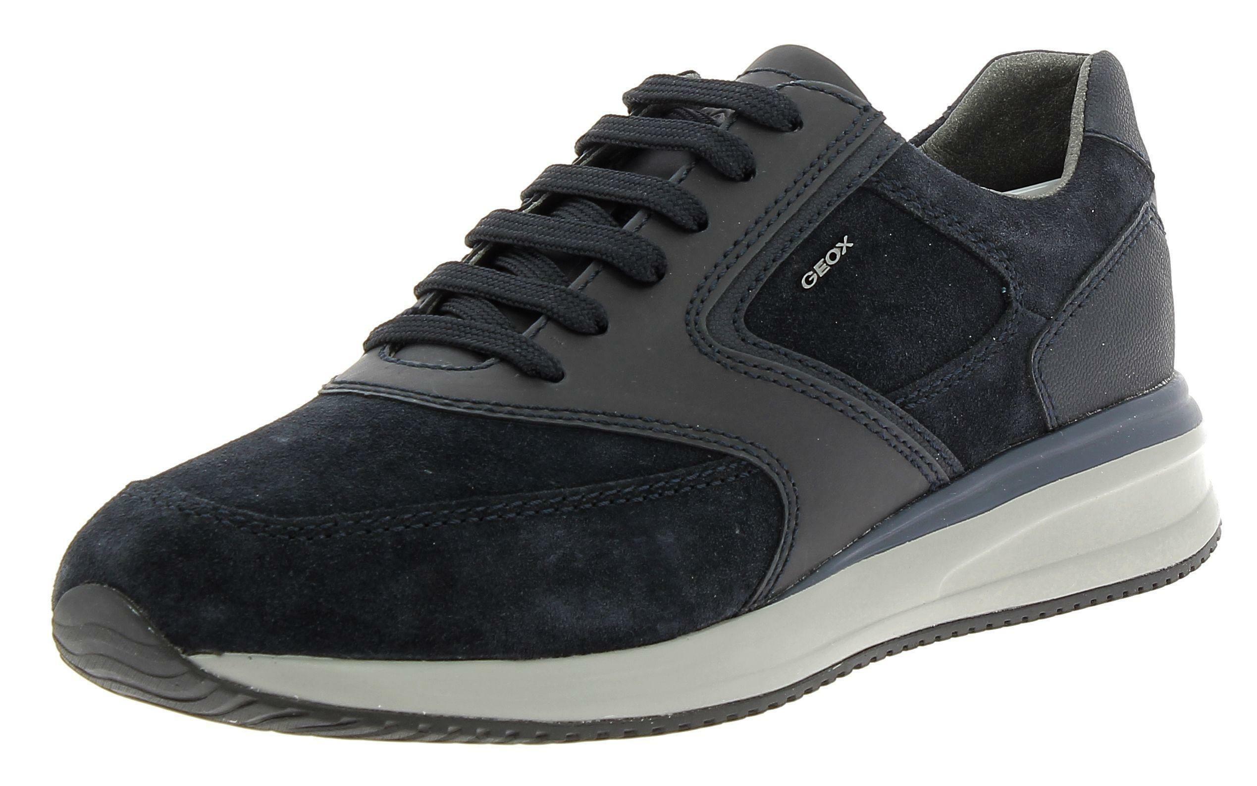 geox geox u dennie a scarpe sportive uomo blu