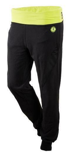 bf6107fdd0 Boxeur des rues pantalone tuta donna neri verde fluo bxt1353