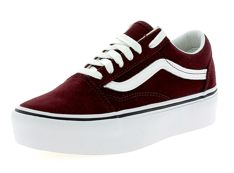 scarpe vans bordò