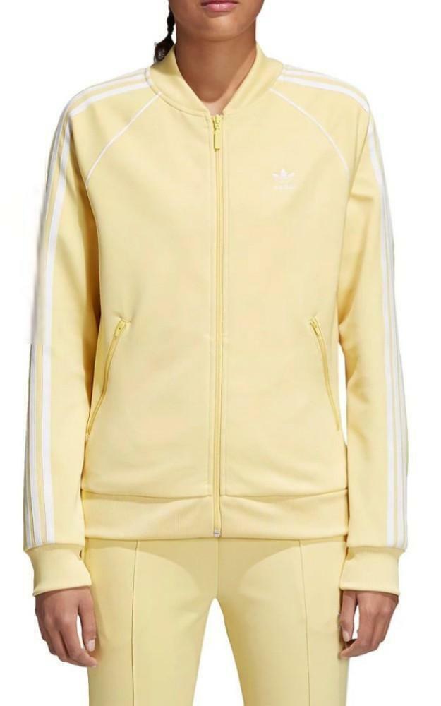 adidas adidas originals sst tt giacchetto donna giallo