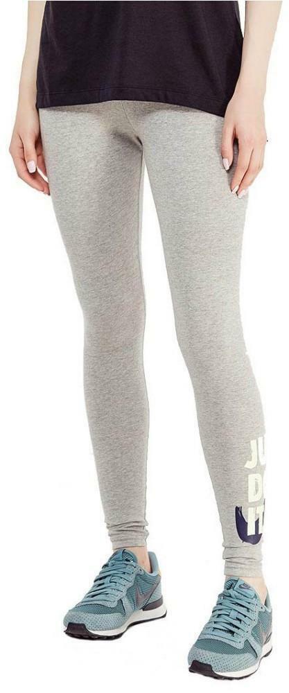 nike nike w nsw leggings club donna grigi 890381063