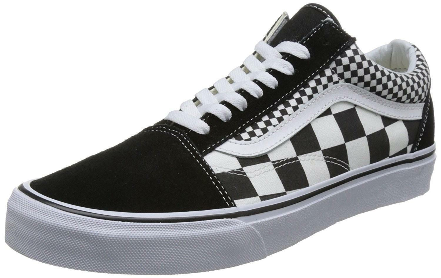 scarpe mix checker old skool vans scarpe mix checker old skool