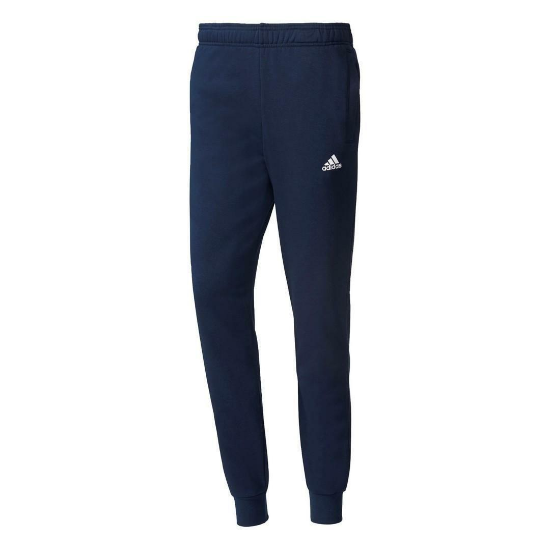 adidas adidas ess s pnt pantaloni tuta uomo blu bs5000