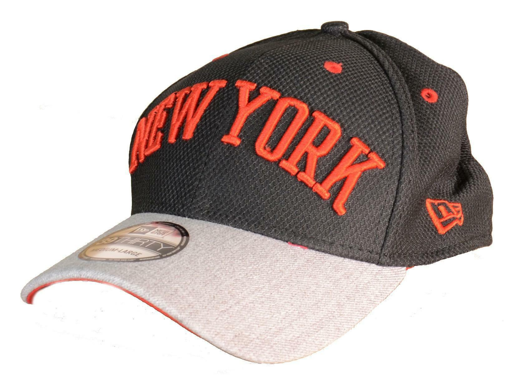 new era new era cappello visiera new york nero rosso 3930