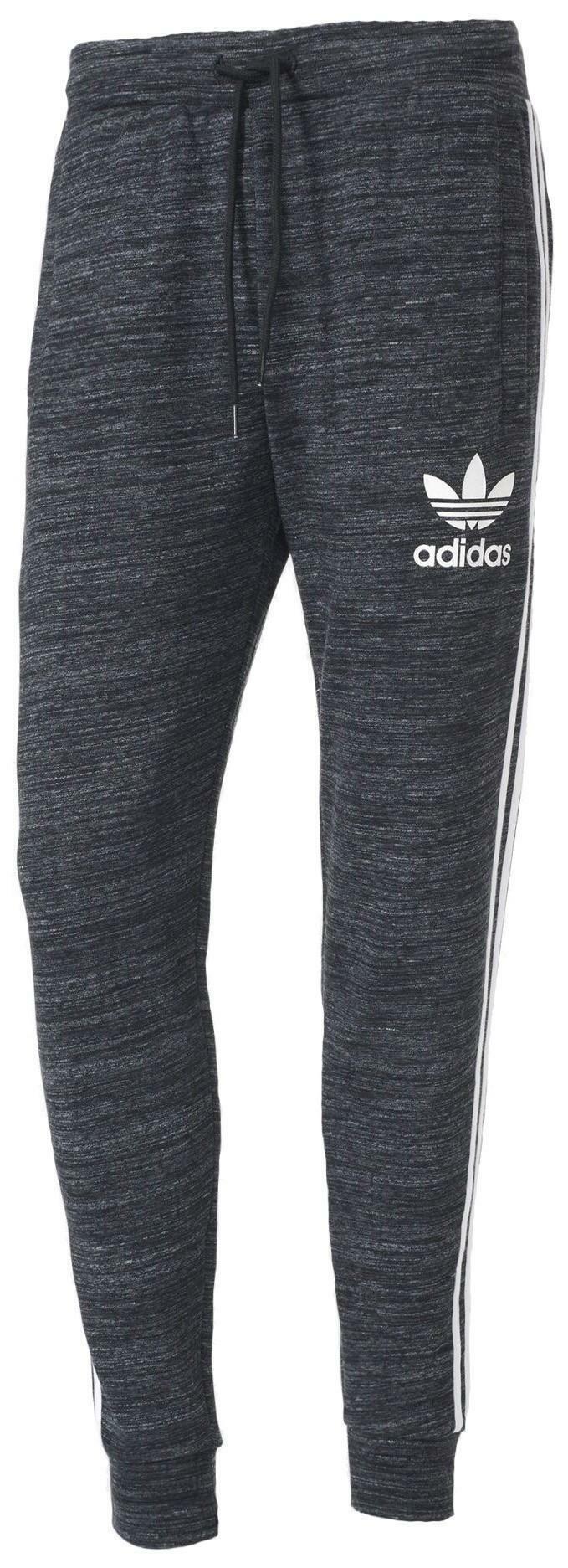 adidas adidas originals clfn pantaloni tuta uomo grigi