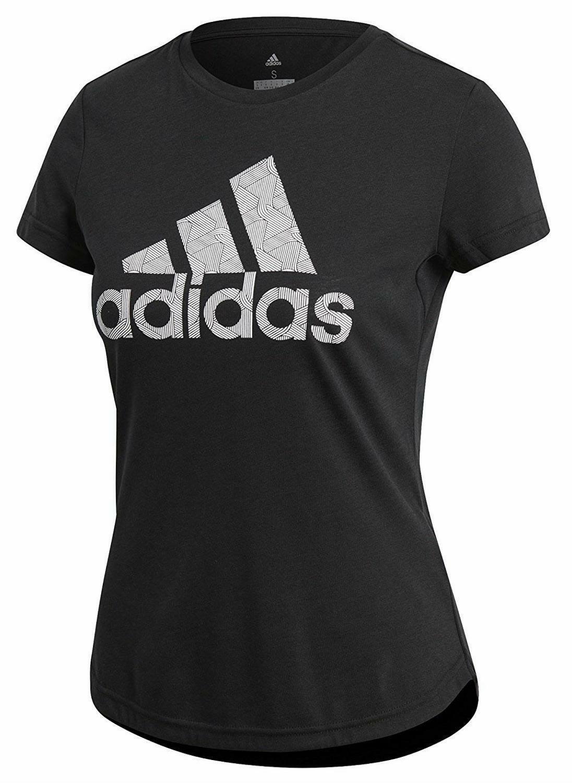 adidas adidas adi training t t-shirt donna nera cv5103