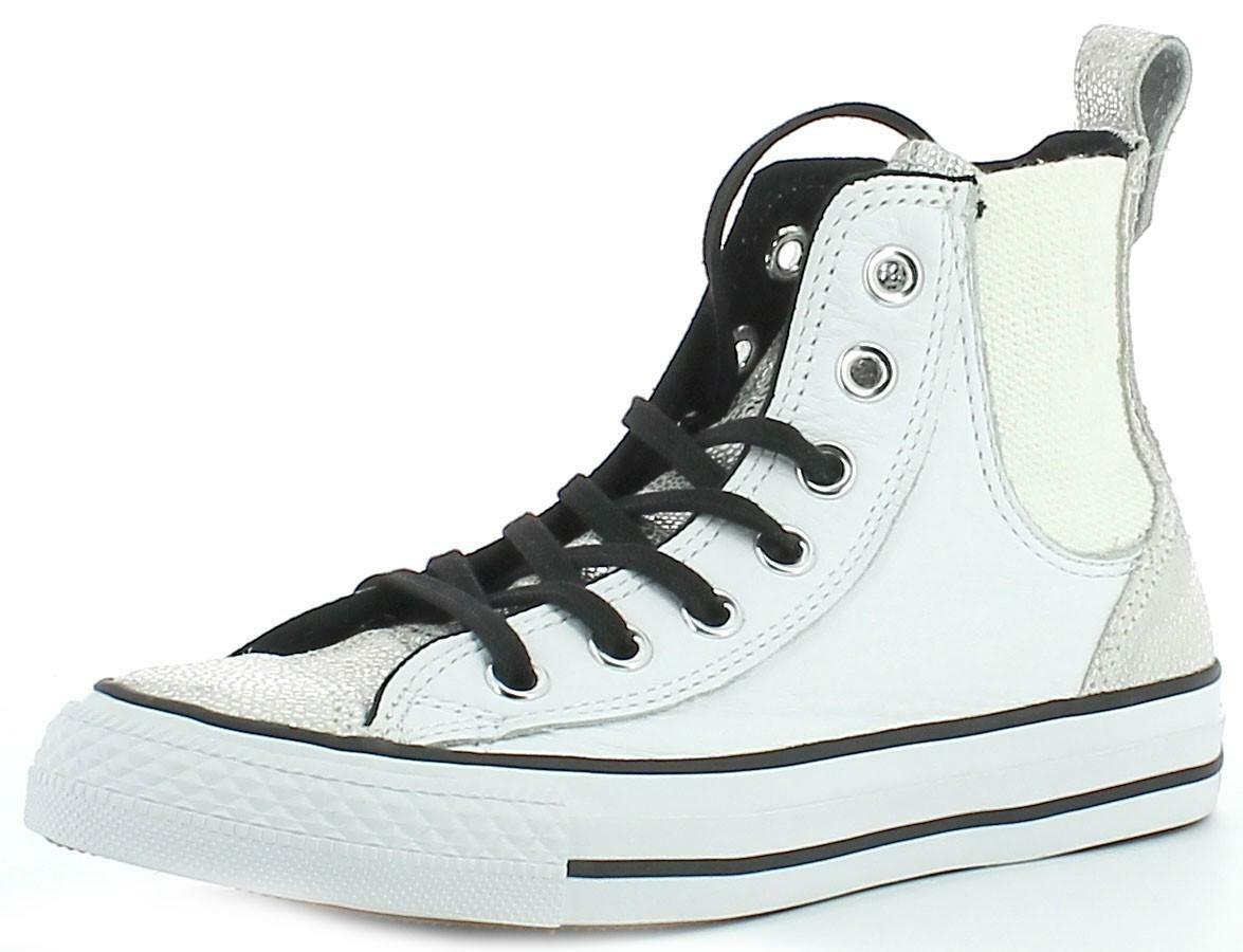converse converse all star hi white scarpe sportive donna