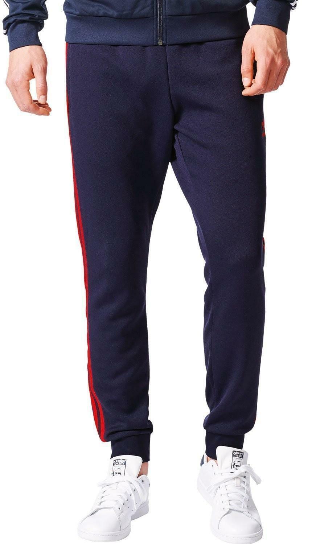 pantaloni tuta blu adidas uomo