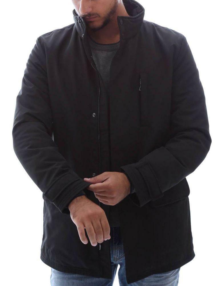 Geox jacket man giubbotto uomo nero