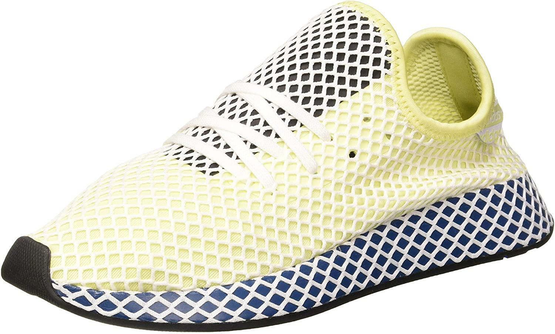Adidas deerupt runner scarpe sportive uomo gialle fluo ef5377