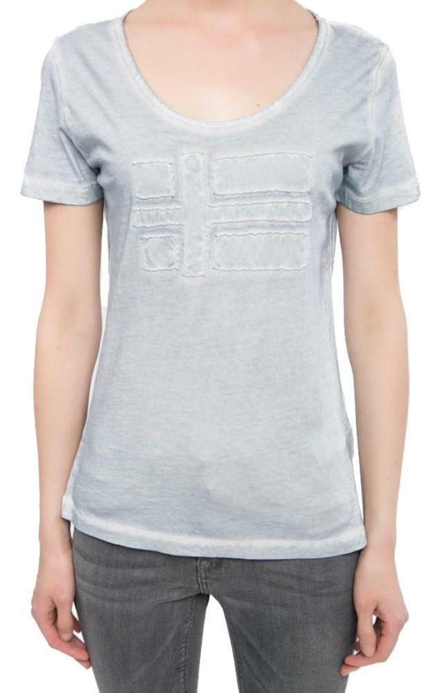 napapijri napapijri shove t-shirt donna celeste n0yd0oi68