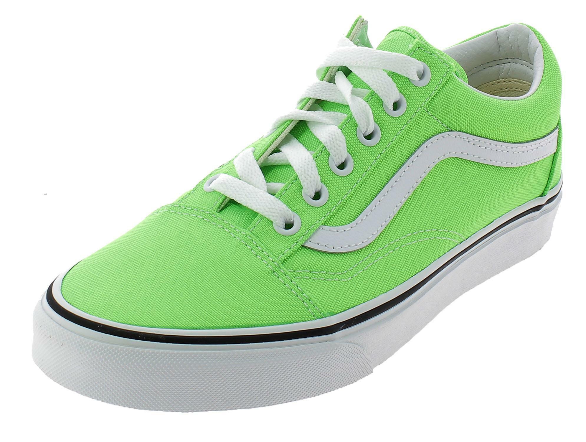 Vans old skool scarpe sportive donna verdi neon vn0a4u3bwt51