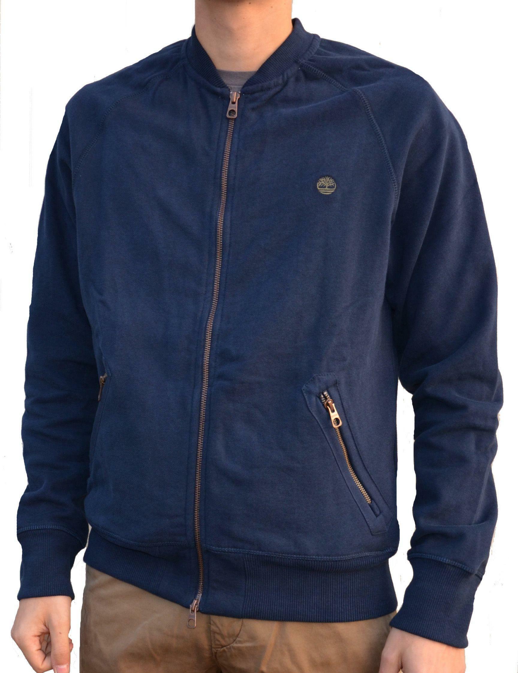 timberland timberland exeter river bomber giacchetto uomo blu