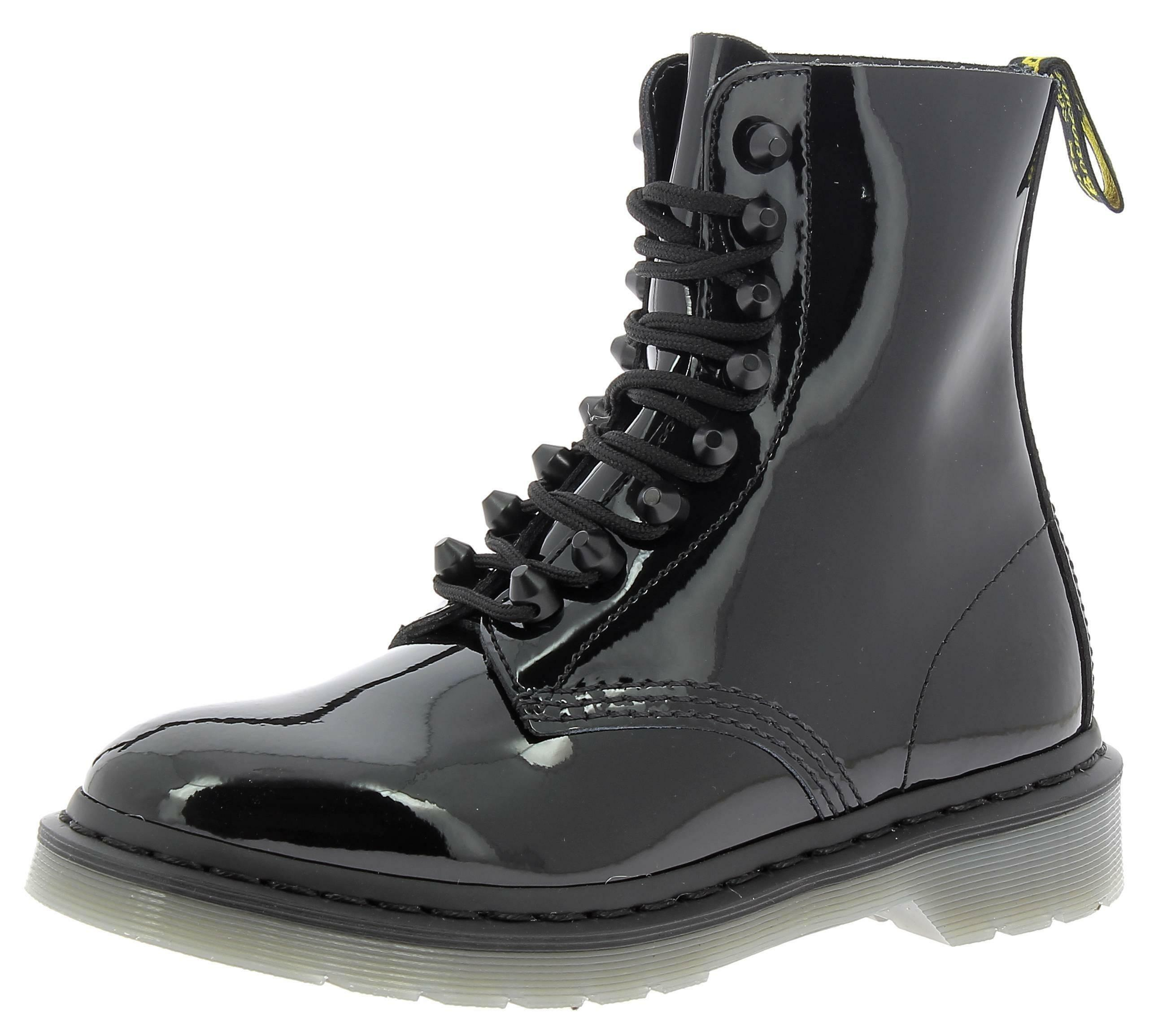 dr. martens pascal stud scarponcini donna neri 22649001