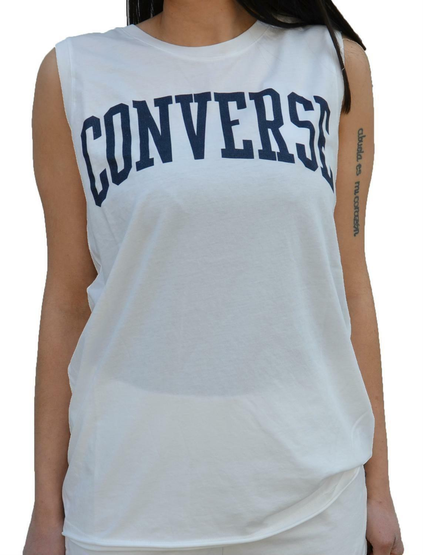 converse converse canotta bianca donna 7426a01