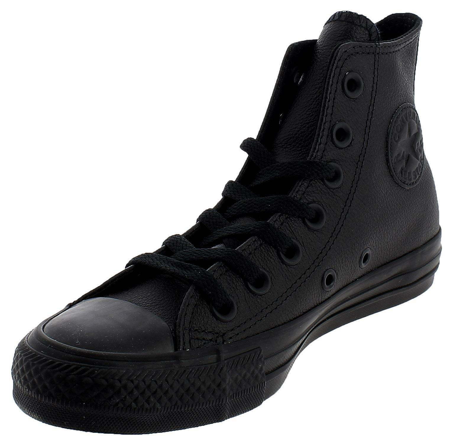 converse all star nere pelle