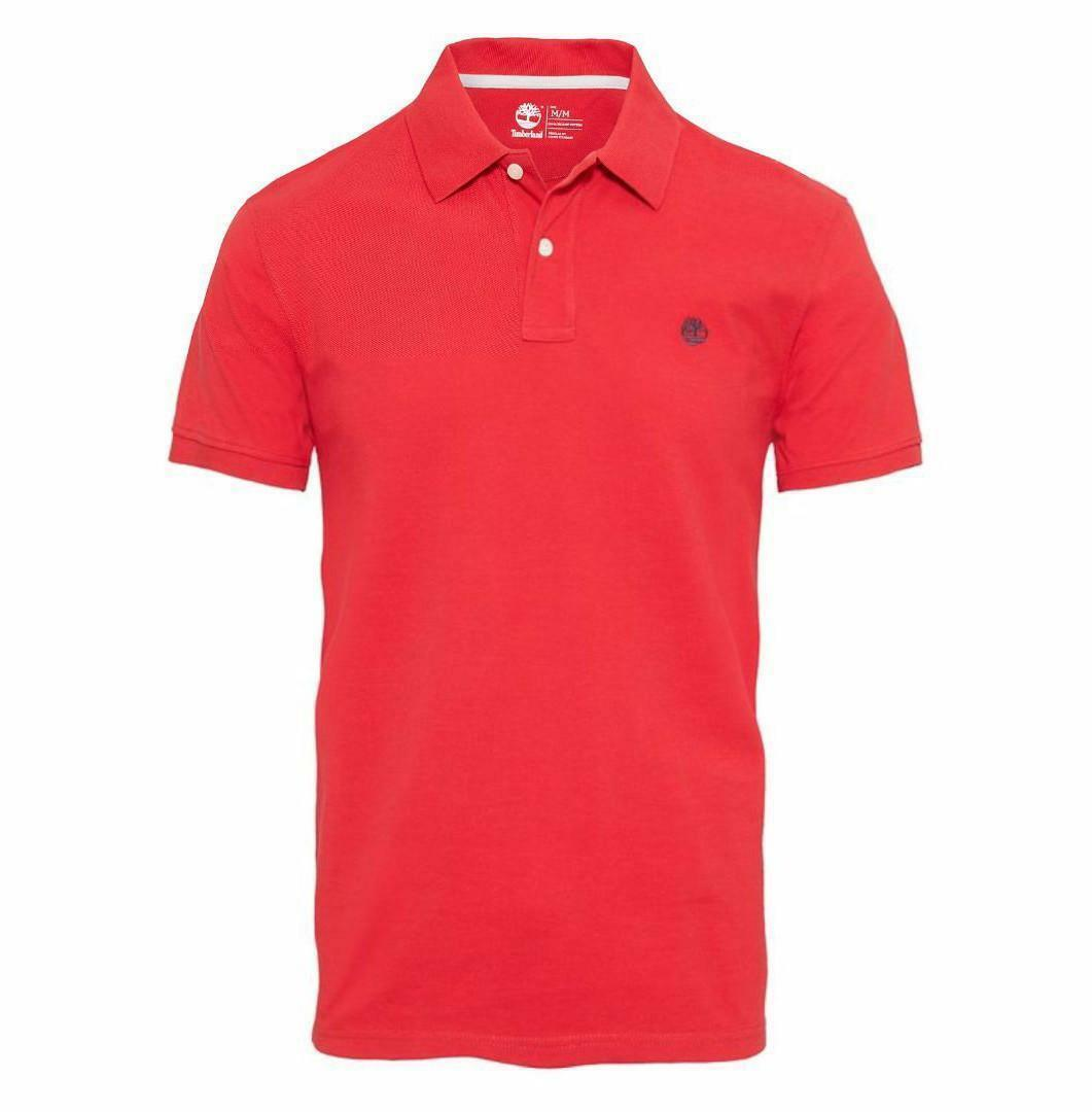 timberland timberland ss millers river polo uomo rossa