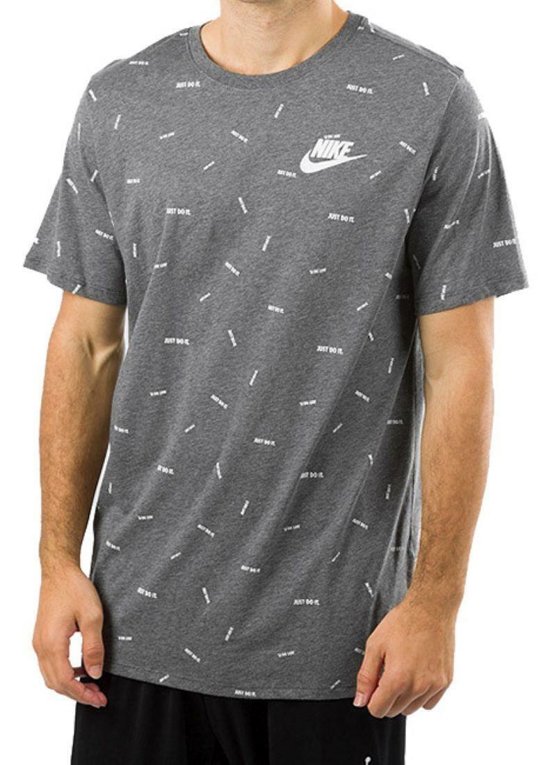 nike nike jersty gc t-shirt uomo grigia 891878071