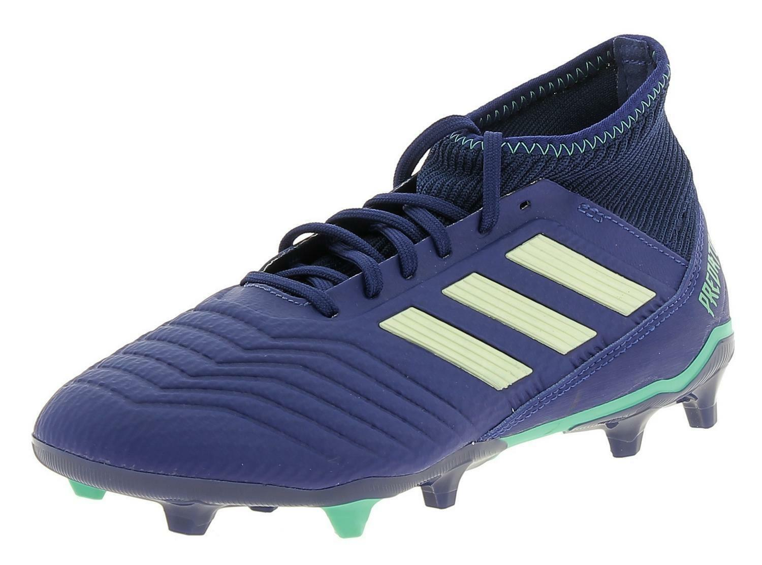 Details about ADIDAS Predator 18.3 Fg Men's Football Shoes Blue CP9304