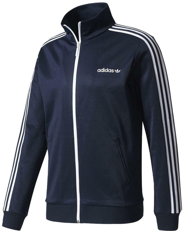 adidas adidas bb tracktop giacchetto uomo blu
